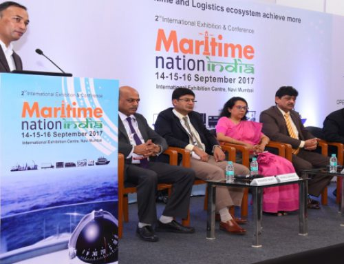 Welcome address by Founder at Maritime Nation India 2017