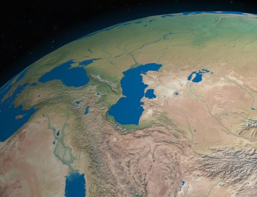 Russia, Iran and 3 other nations agreed to divide Caspian Sea resources.