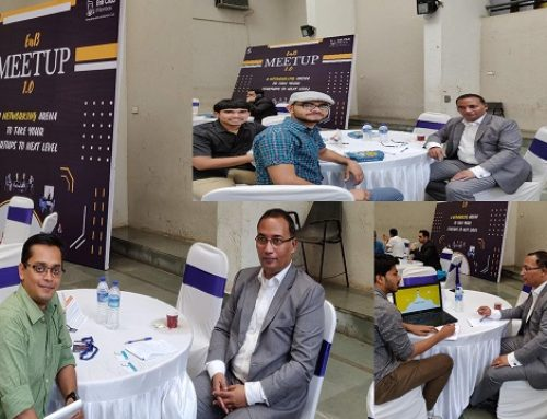 Contributing to the annual Meetup 1.0  – one to one mentoring between start-ups and mentors at the Indian Institute of Technology (IIT) Bombay- September 2019